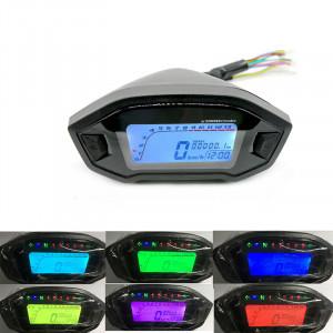 Compteur kilométrique de moto rétro-éclairage de compteur de vitesse numérique LCD de moto 12V numérique 13000rpm CC8109762-20