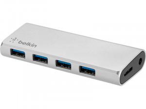 Belkin Hub 4 ports USB 3.0 + Câble USB-C HUBBLK0001-20