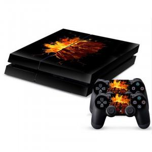 Autocollant de peau en peau de protection en peau de protection volumineuse 3D pour PS4 Game Console SA340E-20
