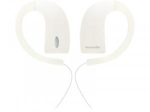 Novodio iH2O Blanc Écouteurs intra-auriculaires étanches Bluetooth MICNVO0021-20