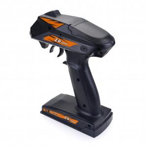 ZD Racing 8277 Radio 2.4Ghz 4 canaux avec réception pour RC Toy noir C0YR3C18767-20