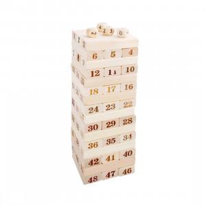 48 PCS Blocs de construction en bois SH70131197-20