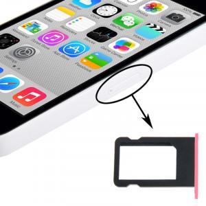 Titulaire de plateau de carte SIM pour iPhone 5C (rose) ST325F471-20