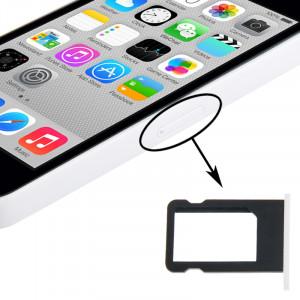 Porte-cartes SIM pour iPhone 5C (Blanc) SP325W1470-20