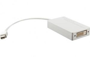 Adaptateur Mini DisplayPort 3-en-1 vers HDMI, DVI et DisplayPort ADPMWY0112-20