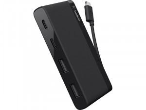 Belkin Mini Hub 4 ports (2 x USB-C, 2 x USB-A) HUBBLK0002-20