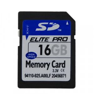 Carte mémoire SD 16GB Elite Pro CMSD16GBEP01-20