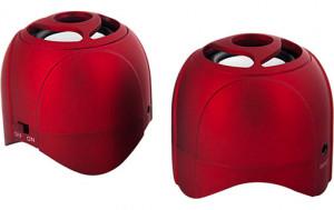 Novodio WattBomb Air Rouge Enceinte portable Bluetooth avec batterie intégrée HAUNVO0040-20