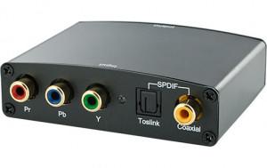 HDMI Converter (transforme signal vidéo composante YPbPr + audio SPDIF en HDMI) HDMMWY0006-20