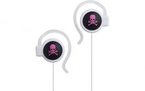 Mix-style M010 Skull-Black/Pink Écouteurs oreillettes MICMIX0030-20