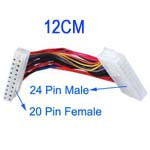Adaptateur d'alimentation 20 Pin Femelle vers 24 Pin Male 12cm AA20P03-20