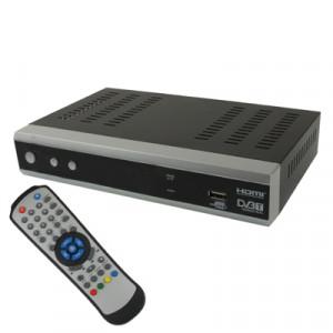 Récepteur TNT HD 1080P / Enregistrement / Interface USB 2.0 / Support carte SD RTNTHDEI01-20