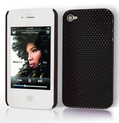 """Etui """"Grid case"""" Apple iPhone 4 / 4S Noir ECG-N-20"""