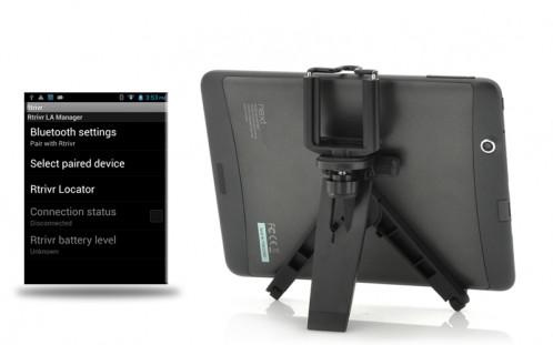 Rtrivr Tripod pour appareil photo Android, Obturateur Bluetooth, Protection anti-perte RTAPAOB01-05
