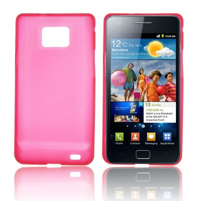 Etui Back Case Ultra Slim pour Samsung i9100 Galaxy S II Rose 17857-31