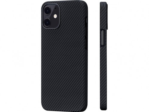 Novodio coque pour iPhone 12 mini en Kevlar et fibres de carbone Noir IPXNVO0187-34