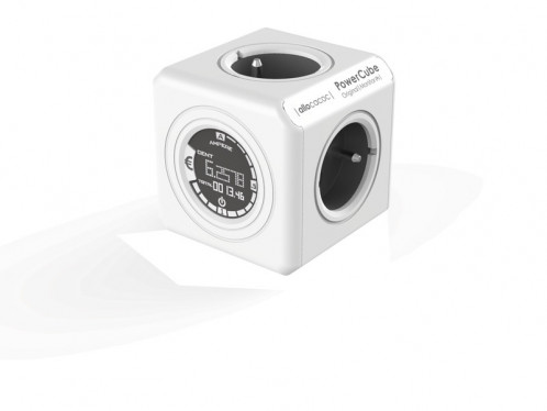allocacoc PowerCube Monitor Original Multiprise avec indicateur consommation ALIACC0015-33