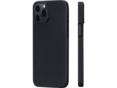 Novodio coque pour iPhone 12 Pro Max en Kevlar et fibres de carbone Noir IPXNVO0189-34