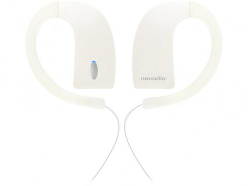 Novodio iH2O Blanc Écouteurs intra-auriculaires étanches Bluetooth MICNVO0021-35