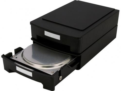 """Storeva HDD Box Boîtier de rangement antistatique pour disque dur 3,5"""" BOISRV0021-33"""
