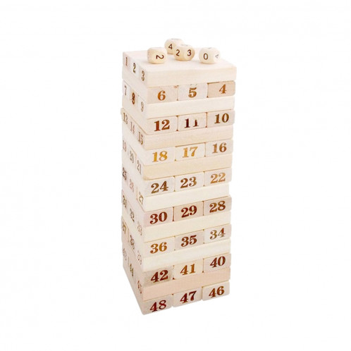 48 PCS Blocs de construction en bois SH70131197-35