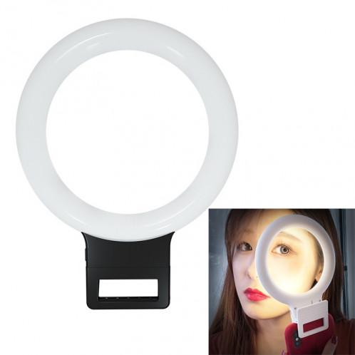 XJ18 LED Light Live Lumière de remplissage du flash avec retardateur (Noir) SH021B1476-39