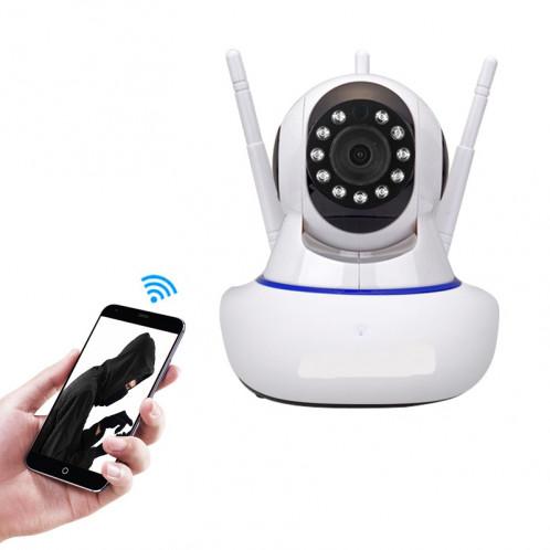 Caméra de surveillance intelligente HD 720P de réseau sans fil de caméra de surveillance sans fil d'artefact de V380 Wifi SH56851807-313