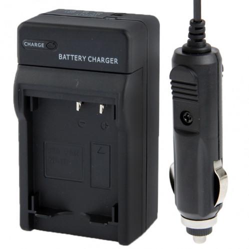 Chargeur de voiture pour appareil photo numérique pour Canon NP-7L (noir) SH00141550-36