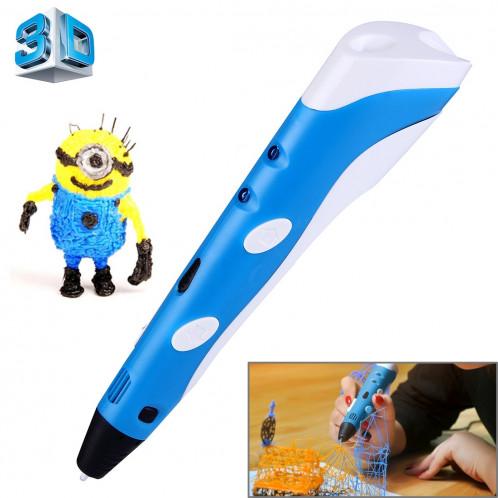 Stylo d'impression 3D à main, prise UE (bleu) SH034L1559-313