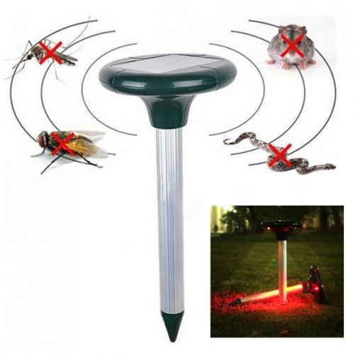 RC-501 Répulsif ultrasonique à rongeur / souris / taupe + moustique / abeille / serpent panneaux solaire SR25921479-39