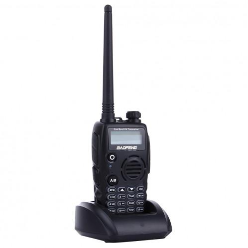BAOFENG A52 Professionnel Émetteur-récepteur À Deux Bandes Radio Talkie Walkie FM Transmetteur (Noir) SB640B1781-311