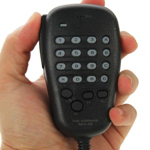MH-48A6J DTMF Microphone pour Yaesu MH-48A6J FT-7800R FT-8800 FT-8900R Radio (Noir) SM692B1421-310