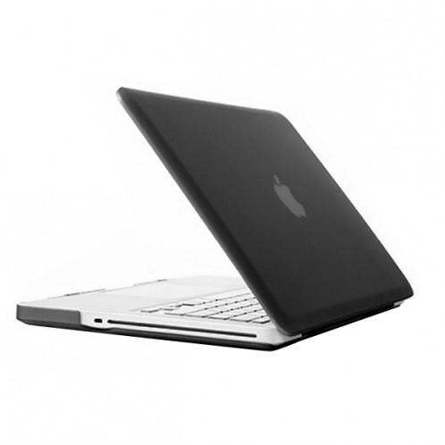 Boîtier de protection en plastique dur givré pour Macbook Pro 13,3 pouces (noir) SH014B473-37