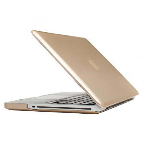 Boîtier de protection en plastique dur givré pour Macbook Pro 13,3 pouces (or) SH14GD1494-37