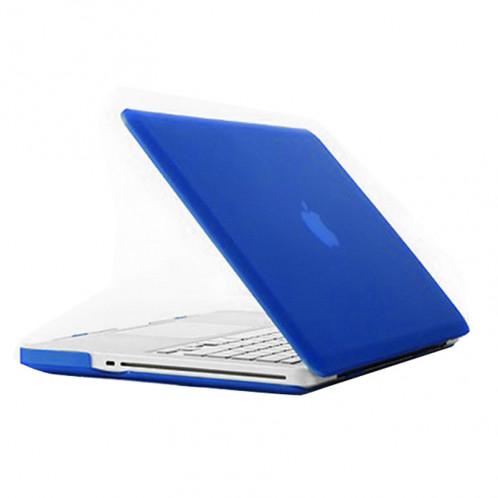 Étui de protection dur givré pour Macbook Pro 15,4 pouces (A1286) (Bleu) SH19BE1518-36