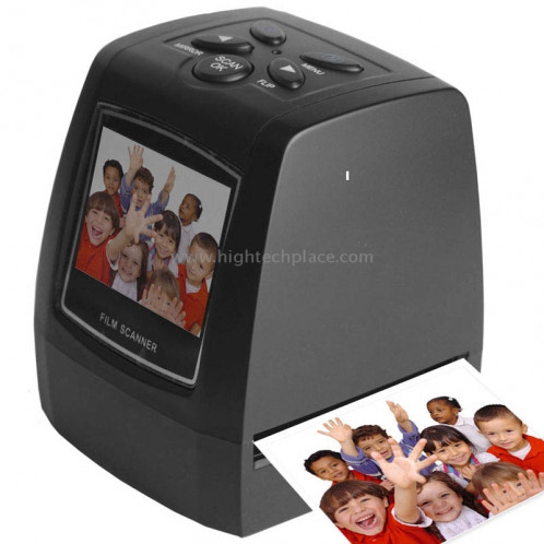 USB 2.0 35mm 5MP 2.36 pouces TFT LCD Screen Film Scanner, carte SD de soutien SU26404-36
