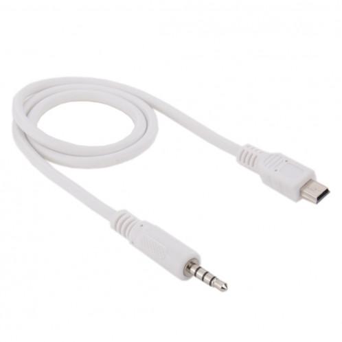 Câble audio mâle mâle vers mini USB mâle de 3,5 mm, longueur: environ 50 cm S37308192-33