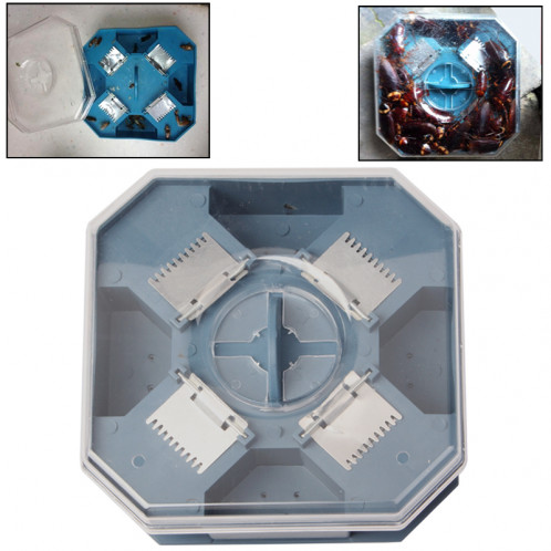Boîte de piège de Blackbeetle de receveur détachable automatique chimique de cafard attrapez-les vivants SB02121417-36