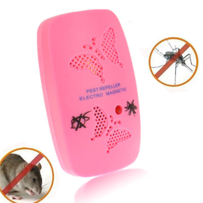 Insecticide ultrasonique électronique avec deux étapes de réglable, rose (prise américaine) SI216F1428-31