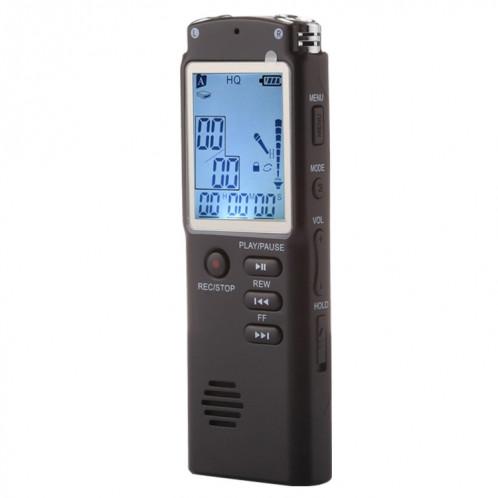 Enregistreur vocal audio portable VM113, 8 Go, lecture de musique de soutien / LINE-IN et enregistrement téléphonique SH19061436-310