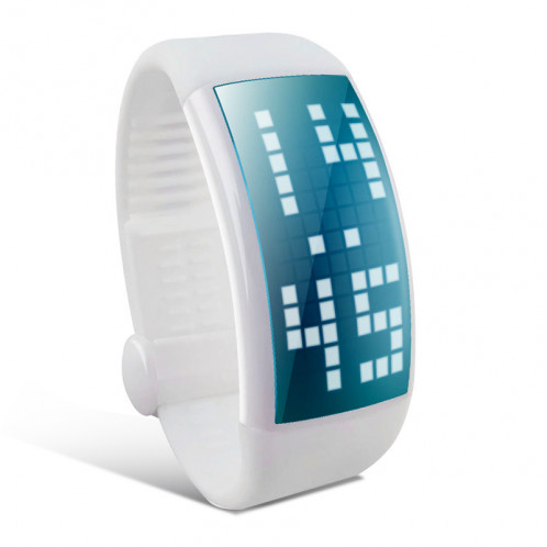 Montre bracelet podomètre Podomètre 3D / Écran LCD / Disque USB / 8Go de mémoire / Heure + Date CP2303-31