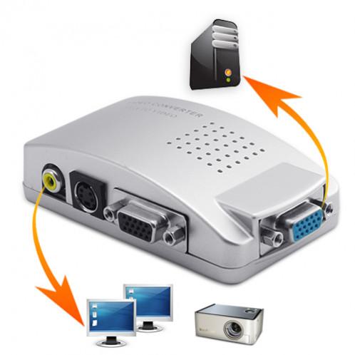 Convertisseur PC vers TV Utiliser votre téléviseur comme un moniteur d'ordinateur CPCTVUTMO01-34