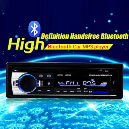 Lecteur de voiture Bluetooth Bluetooth Stéréo 4X60W autoradio 12V au tableau de bord 1 récepteur FM d'entrée CL58551357-33