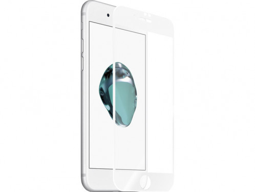 Kanex EdgeGlass Blanc Protection verre trempé iPhone 7 Plus IP7KNX0004-34