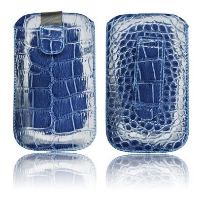 Housse Croco Apple iPhone 3G / 3GS / 4 / 4S / Samsung i900 OMNIA Granat HC-GRA-31