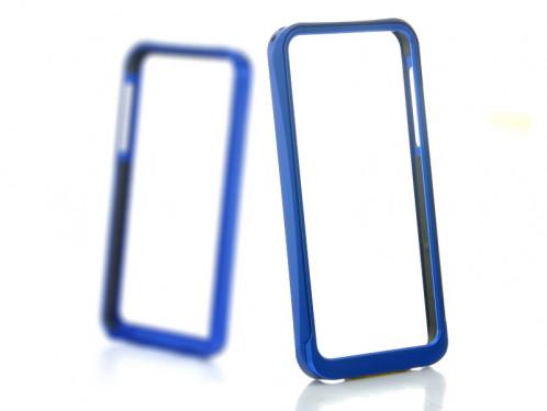 Bumper en aluminium pour iPhone 5 Bleu BAPI5B01-310