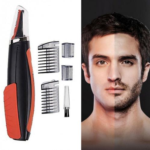 Tondeuse cheveux/barbe multifonctionnelle pour homme fonctionne avec des piles SM9604227-32