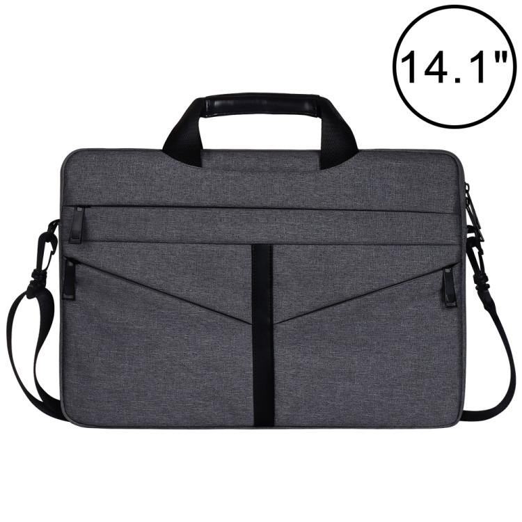 e6c8dc6ba0 ... 14,1 pouces respirant sac à bandoulière pour ordinateur portable de poche  ordinateur portable avec