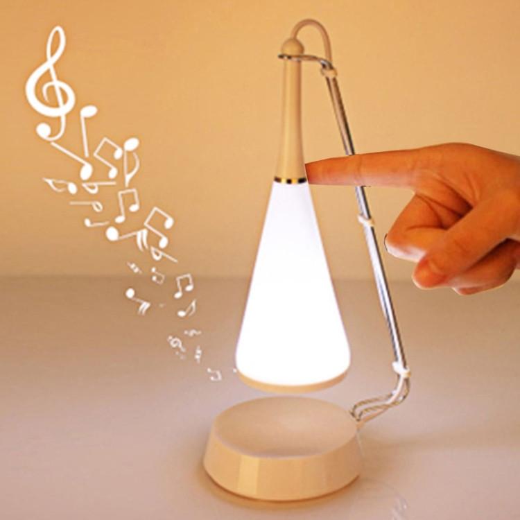 1118 Mini À Table Lampe Shs Led De Avec Tactile Coucher Parleurblanc oCBerWEQdx