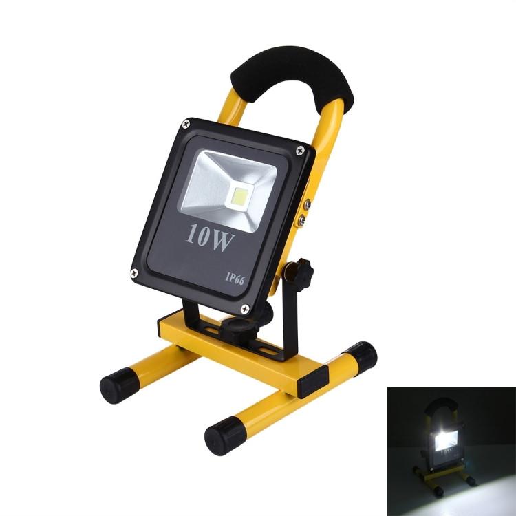De Mince Projecteur 900lm 10w 250vlumière Blanche LedCa RechargeableIp66 Lampe Imperméabilisent La Portative 100 Pw0kNX8nOZ